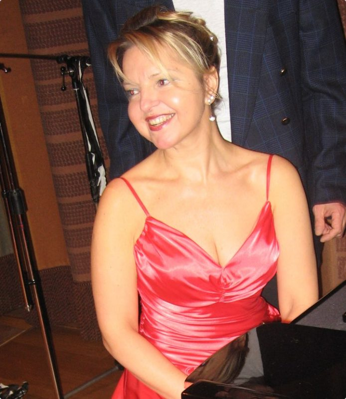 Pianolärare Dorota Zarowiecka