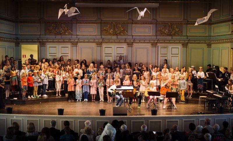 Konsert Allsång Samklang ÖMK